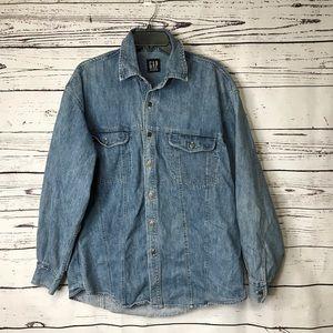 Gap denim shirt.     LL523